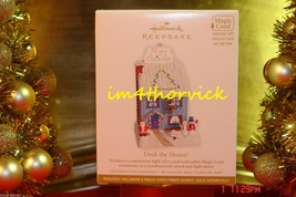 Hallmark 2012 Deck The House! Light Sound Keepsake Magic Ornament NIB - $199.99