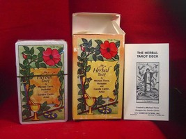 THE HERBAL TAROT DECK by Michael Tierra publish... - $99.50
