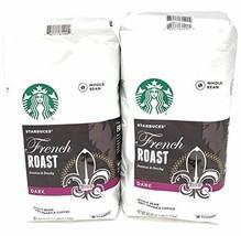 2 Packs of 40 Oz Starbucks French Roast Whole Bean Coffee = 2 x 40 Oz = ... - $48.30