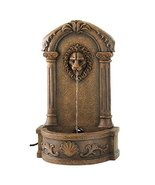Lion's Head Courtyard Fountain - $79.99
