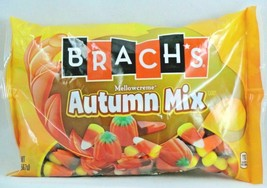 4x 20oz BAG BRACH'S AUTUMN MIX MELLOWCREME CANDY CORN PUMPKINS HARVEST CORN NEW image 2