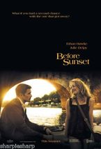 2004 BEFORE SUNSET Ethan Hawke Motion Picture Promotional Movie Poster 1... - $7.99