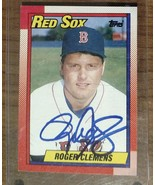 Roger Clemens 1989 Topps Autograph #245 - Fast Shipping - $19.79