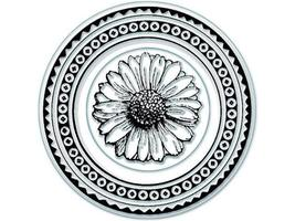 Inkadinkado Personal Impressions Daisy Clear Stamp Set #96394, Set of 2 - $4.99