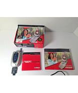 LG VX5200 Camera CDMA Speaker Flip VERIZON Cell Phone Original Box - $23.10
