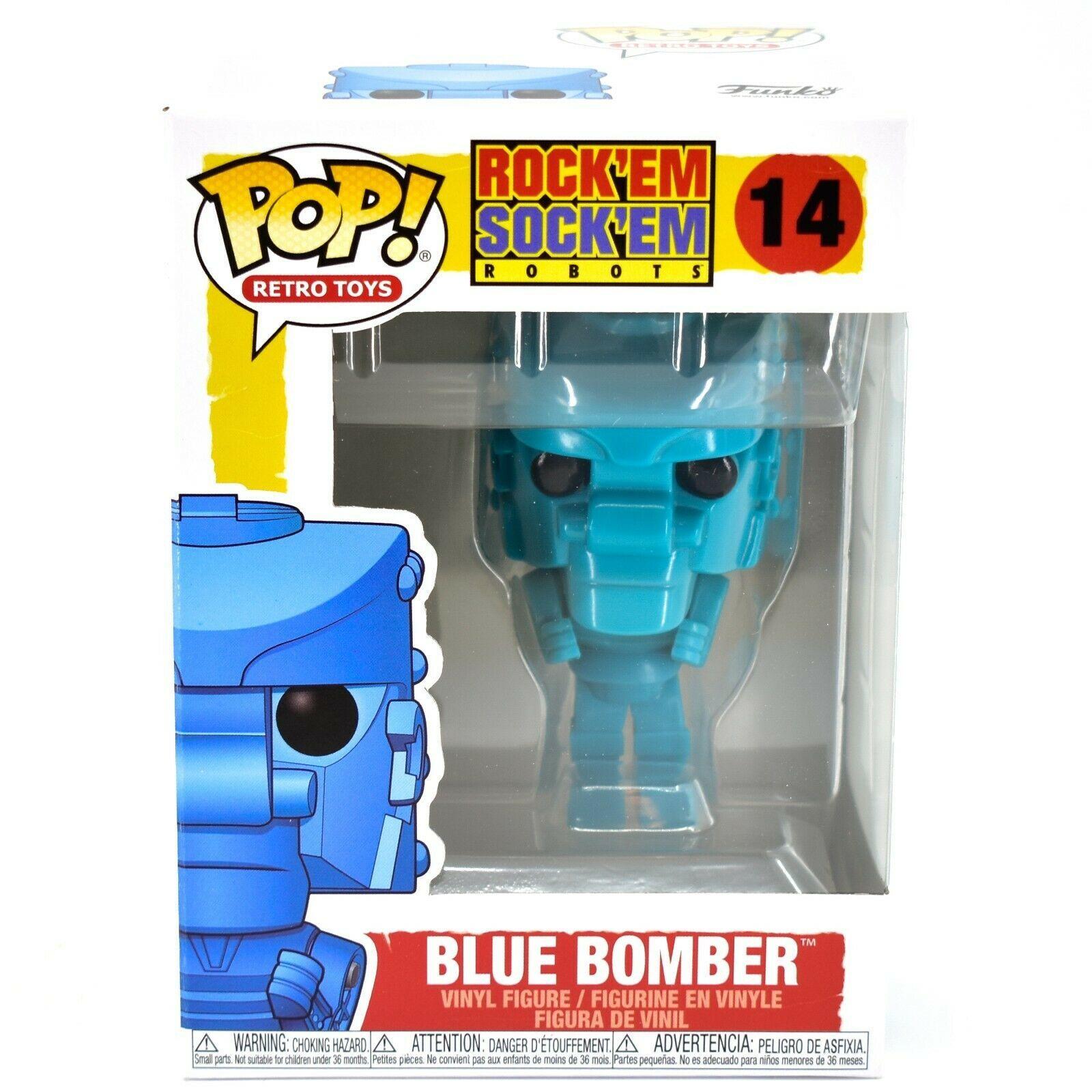 Funko Pop! Retro Toys Rock'em Sock'em Blue Bomber #14 Vinyl Figure
