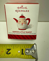 Hallmark Keepsake Santa's Little Teapot Miniature 2014 - $19.75