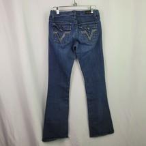 Vigoss Classic Size 1 Blue Denim Womens Juniors Jeans - $26.11