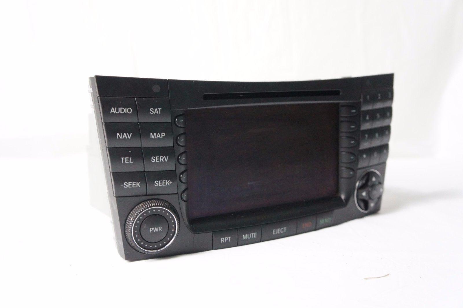 03 06 mercedes w211 e320 e350 e500 radio stereo gps. Black Bedroom Furniture Sets. Home Design Ideas