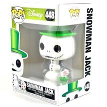 Funko Pop! Disney Nightmare Before Christmas 25 Years Snowman Jack 448 Figure image 2