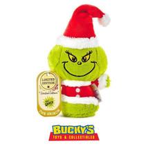 Dr. Seuss How the Grinch Stole Christmas Hallmark itty bitty bittys Sant... - $29.69