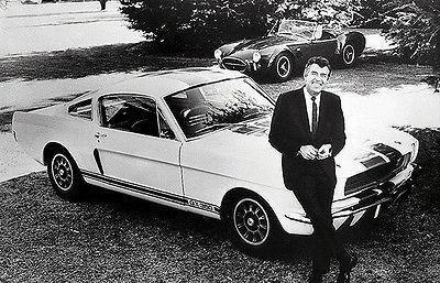 Primary image for 1966 Carroll Shelby and Ford Mustang Shelby GT350 - Promotional Poster