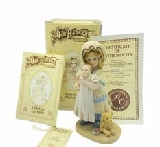 Jan Hagara figurine vtg limited edition 1985 Jenny her bye lo Doll NIB c... - $29.65