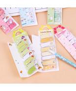 XUES® 1PC/Set Sweet Bow Cartoon Animals Mini Sticky Memo Pad N Times Sticky - $1.15