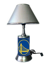 Golden State Warriors desk lamp with chrome finish shade - $39.99