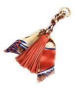 Tassel And Scarf Handbag/purse Charm Women Accessory Key Ring US seller - $12.59