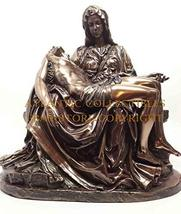"Ebros Gift Michelangelo Vatican Reproduction of La Pieta Statue 10"" Tall... - $72.26"