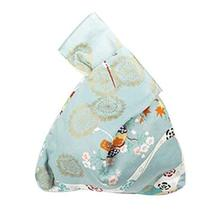 Japanese Style Handbag Gift Cotton Bag Wristlet Handbag Handmade Purse