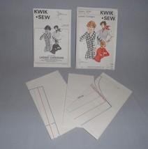 Uncut Kwik Sew Ladies Cardigan Sewing Pattern #504 Small-xlarge - $2.50