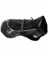 Hurtta HU930915 Pet Collection 13-Inch Dog Raincoat, Black, NEW - $34.00