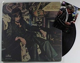 "Rod Stewart Signed Autographed ""Never a Dull Moment"" Record Album w/ Sig... - $69.29"