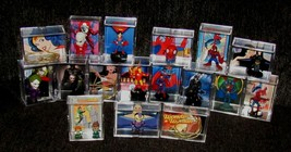 MARVEL and DC display (inspired by) lot..Slightly USED-We Combine Shipping  - $47.51