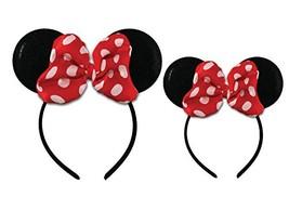 Disney Minnie Mouse Sparkled Ear Shaped Headband with Polka Dot Bow, Mommy  - $14.92