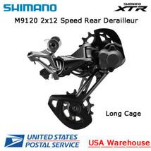 Shimano XTR RD-M9120 2x12 Speed Long Cage SGS Rear Derailleur MTB - $234.99