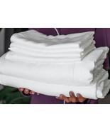 YALA Bamboo Dreams Luxe Sateen Sheet Set - King - Natural Undyed - £423.24 GBP