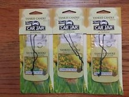 12 new yankee candle classic car jar air freshener flowers in the sun scent - $26.00