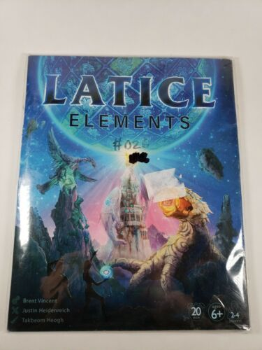 Primary image for Latice Elements Strategy Card Game - 20 Minutes - Ages 6+ - 2-4 Players