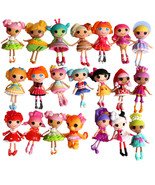 8pcs/lot 3inch Kids Button Eyes Mini Lalaloopsy Dolls Toys Kids Birthday - $23.23