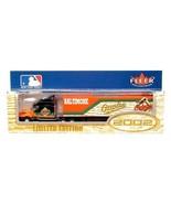BALTIMORE ORIOLES TRACTOR TRAILER MLB 2002 REPLICA SEMI DIECAST TRUCK 1:... - $14.99