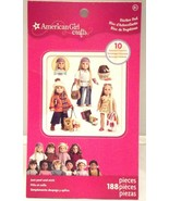 American Girl Crafts Historical Dolls Sticker Pad 188 PC NEW Free Shipping - $7.73