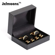 2017 NEW Silver/gold Buttons and studs for men Cufflinks and buttons wit... - €24,86 EUR