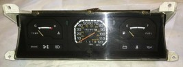 1986 Dodge D50 Instrument Cluster Gauges Speedometer 4x4 Pickup Truck OEM - $39.59