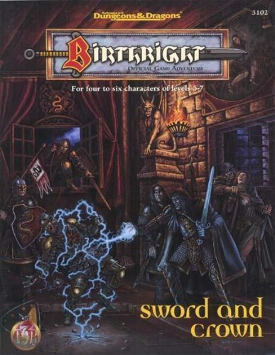 Sword and Crown (Birthright, 3102) [Sep 01, 1995] McComb, Colin and Easley, Jeff