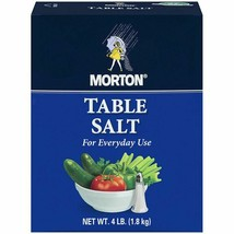 Morton Table Salt 4 lb. Every Day Use Commercial Size - $5.39