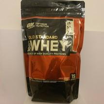 Optimum Nutrition Gold Standard 100% Whey Powder Strawberry 450g ( B BF ... - $16.42