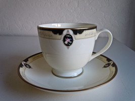 Pfaltzgraff Royal Onyx Cup and Saucer - $12.66