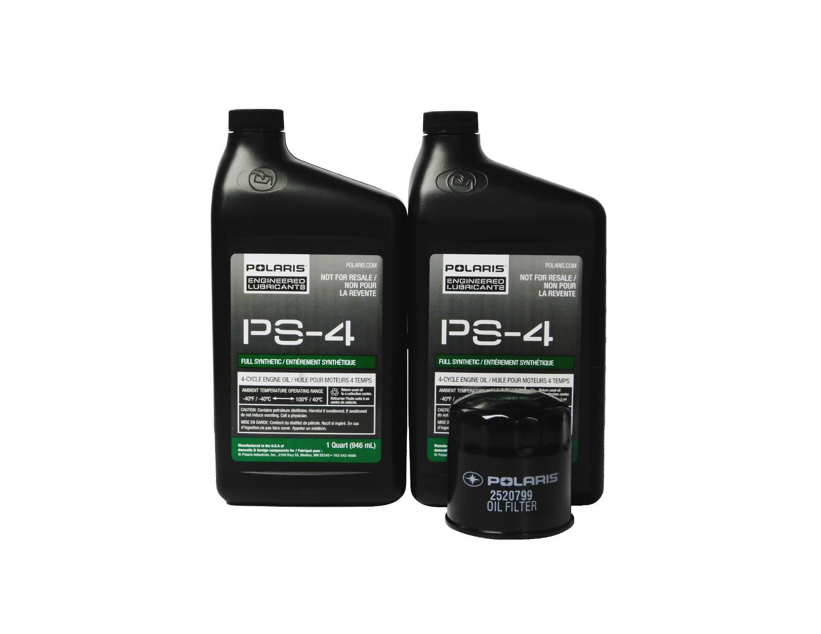 1996-2013 Polaris Sportsman 500 4x4 6x6 EFI HO LE OEM Oil Change Kit 2877473 - $39.99