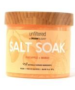 1 Count Unfiltered By RawSugar 14 Oz Salt Soak Pineapple Mango Vegan No ... - $17.99