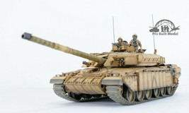 British Main Battle Tank Challenger 1 (Mk.3) /w 02 crews 1:35 Pro Built ... - $391.05