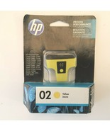 Genuine HP 02 Yellow Ink Print Cartridge C8773WN Exp Sep 2017 New - $9.99