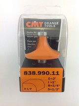 "CMT 838.990.11 Round Over Router Bit, 1/2"" Shank, 3/4"" Radius,  Made in Italy - $44.70"