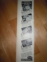Vintage Parker Brothers Games Print Magazine Advertisement 1937 - $6.99