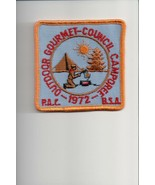 1972 PAC Outdoor Gourmet Council Camporee patch - $5.94