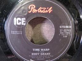 EDDY GRANT Electric Avenue / Time Warp 45 Rpm Vinyl Record - $2.96