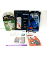 Lot of Different Screen Protectors for GPS, PSP,Camcorders,Galaxy6 NEW! - $7.83