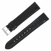 Breitling 18-18mm Genuine Leather Black Ladies Watch Band w. Buckle - $379.00